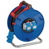 Brennenstuhl 25m Garant 2x16 Amp Socket Cable Reel with IP44 Protection - 240V (1182760)
